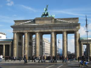 Berlin Brandenburger Tor Fernsehturm