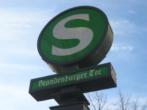 Berlin S Bahn Oranienburger Strasse