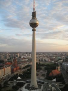 Fernsehturm from Park Inn Berlin