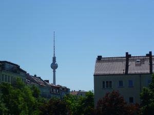 Prenzlauer Berg Berlin view from Wasserturm