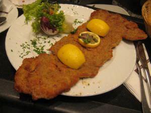 Wiener Schnitzel at KaDeWe Berlin