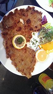 Wiener Schnitzel at KaDeWe