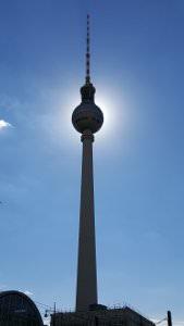 Berlin Fernsehturm Summer