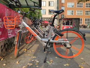 Mobike Bikesharing Berlin