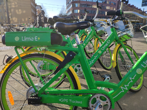 Lime E Bikes