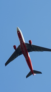 Air Berlin flight