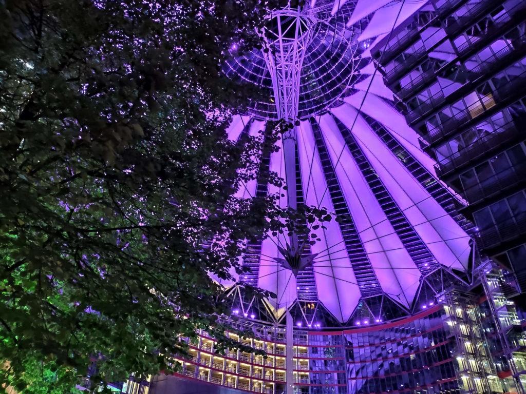 Sony Center Purple